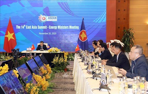 ASEAN 2020:促进经济复苏和减少温室气体排放 hinh anh 1