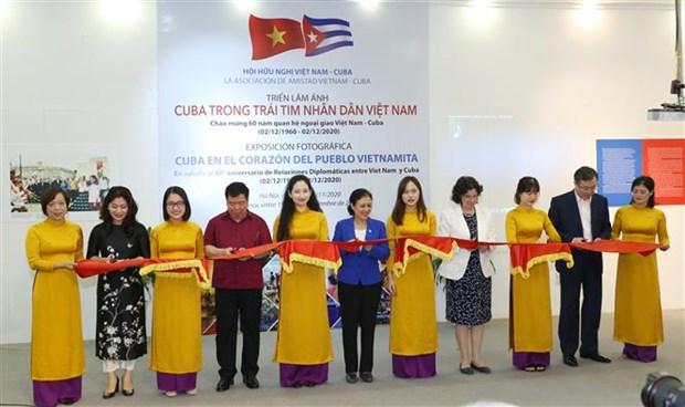 """令人印象深刻的""""越南人民心中的古巴""""摄影展在河内开展 hinh anh 1"""