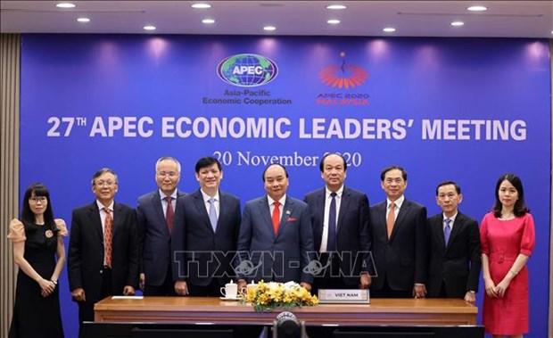 《2040年APEC布特拉加亚愿景》—APEC和亚太地区未来合作新里程碑 hinh anh 1