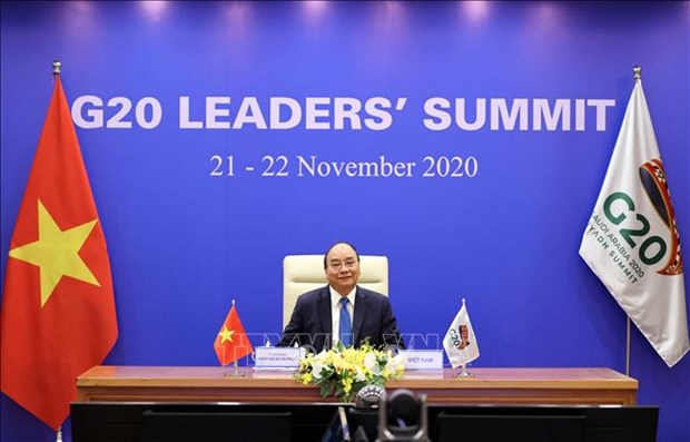 二十国集团领导人第十五次峰会开幕 越南政府总理阮春福与会 hinh anh 1