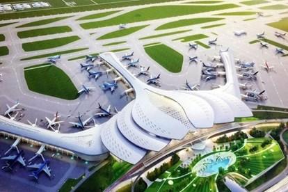政府总理阮春福批准隆城国际航空港第一期工程项目 hinh anh 1