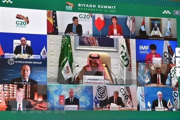 G20峰会:各国承诺公平分配新冠疫苗 hinh anh 1