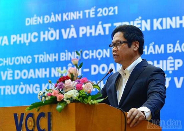 2021年经济论坛:经济复苏与发展的支点 hinh anh 1