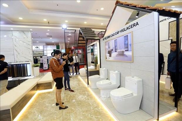 2020年河内国际建筑建材及家居产品展览会共设近1200间展位 hinh anh 1