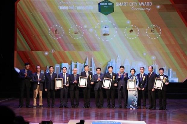 2020年越南智慧城市奖:为国家数字化转型做出贡献 hinh anh 1