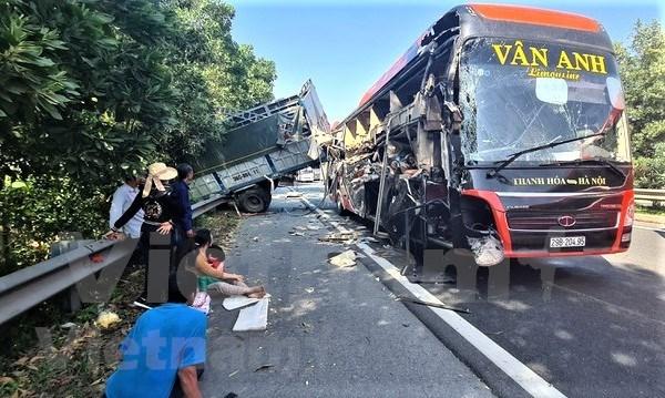 今年前11个月全国交通事故死亡人数6048人 hinh anh 1