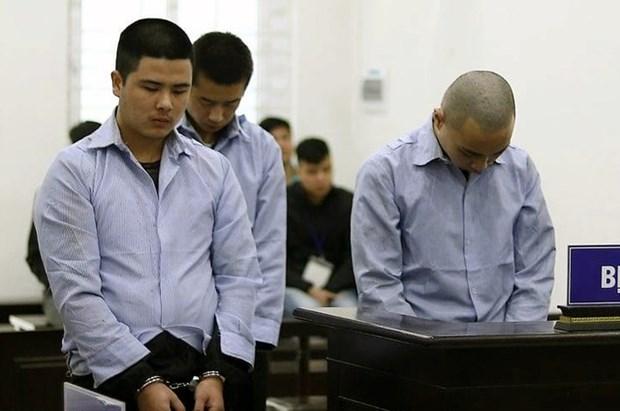 3名中国男子在越南劫杀出租车司机被判死刑 hinh anh 1