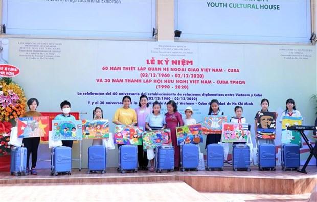胡志明市隆重举行越南古巴建交60周年庆典 hinh anh 1