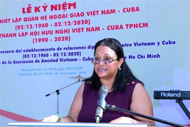 胡志明市隆重举行越南古巴建交60周年庆典 hinh anh 2