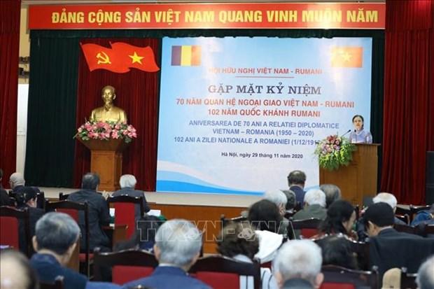 进一步加强越南与罗马尼亚友好关系 hinh anh 1