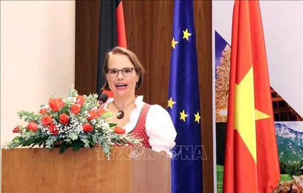 胡志明市重视与德国的合作关系 hinh anh 1