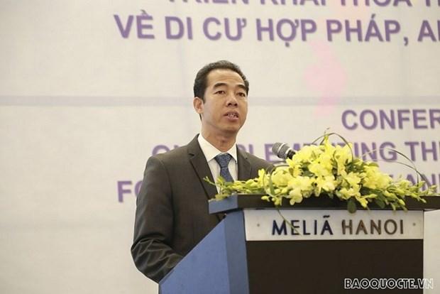 越南认真落实《安全、有序和正常移民全球契约》 hinh anh 1
