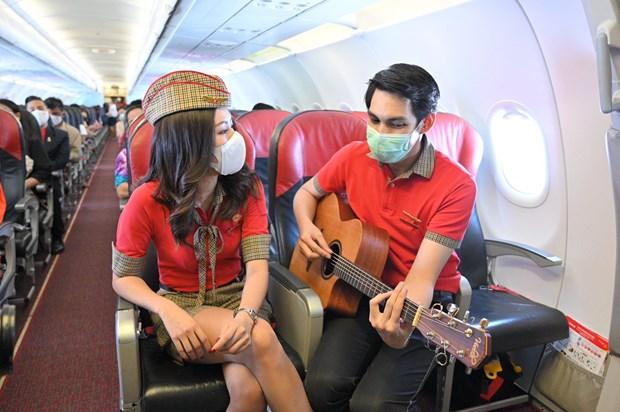泰国越捷航空公司开通第14条航线 越捷出售99泰铢起特价机票 hinh anh 1