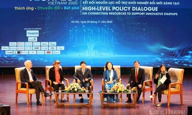 2020年越南国家创新创业节留下的印记 hinh anh 1