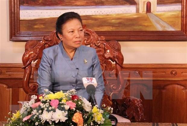 老挝革命的光荣胜利离不开越南军队与人民的切实帮助和重大牺牲 hinh anh 1