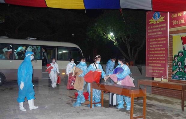 越南新增7例境外输入新冠肺炎确诊病例 hinh anh 1