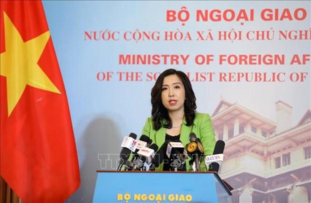 越南外交部发言人黎氏秋姮驳斥国际特赦组织提出的消息 hinh anh 1