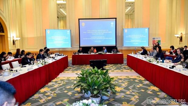 制定越南与联合国2022-2026年合作发展框架 hinh anh 1