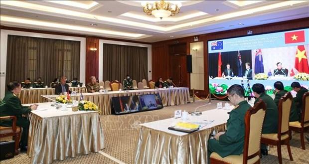 第四次越南与澳大利亚国防政策对话以视频方式召开 hinh anh 1