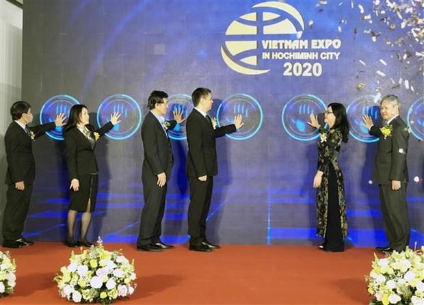 """2020年越南国际贸易博览会首次采取""""实体展+线上展""""的形式举办 hinh anh 1"""