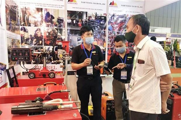 """2020年越南国际贸易博览会首次采取""""实体展+线上展""""的形式举办 hinh anh 2"""
