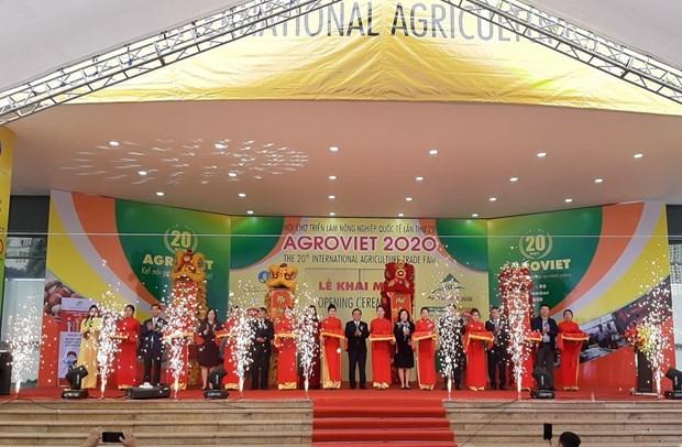 第20届越南国际农业展览会开幕 hinh anh 1