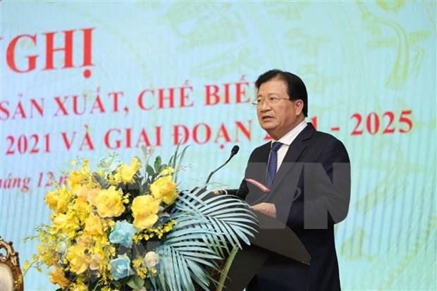 越南力争到2025年木材和林产品出口额达180亿至200亿美元 hinh anh 2