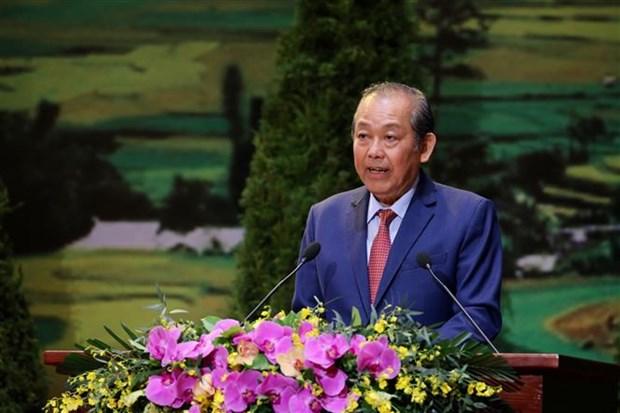 2020年第二届越南少数民族全国代表大会闭幕 通过大会的决心书 hinh anh 2
