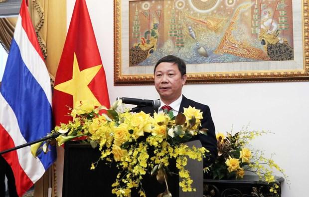 促进越南与泰国在各领域的合作关系 hinh anh 1