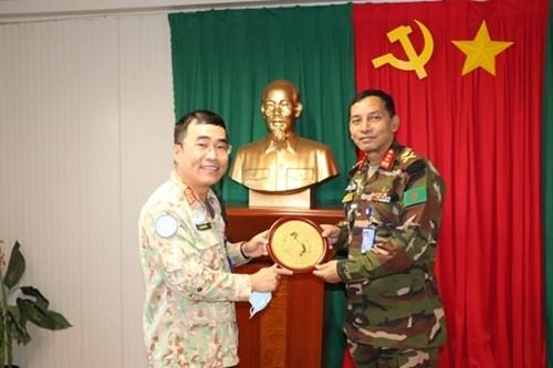 越南野战医院在南苏丹的防疫工作获得高度评价 hinh anh 1