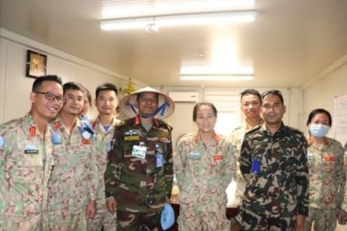 越南野战医院在南苏丹的防疫工作获得高度评价 hinh anh 2