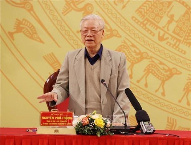 越通社评选一周要闻回顾 (2020.11.30 – 2020.12.6) hinh anh 1