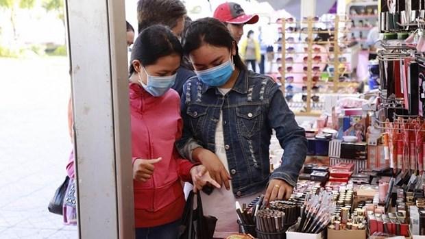 2020年越南-泰国购物和美食展览会在坚江省举行 hinh anh 1