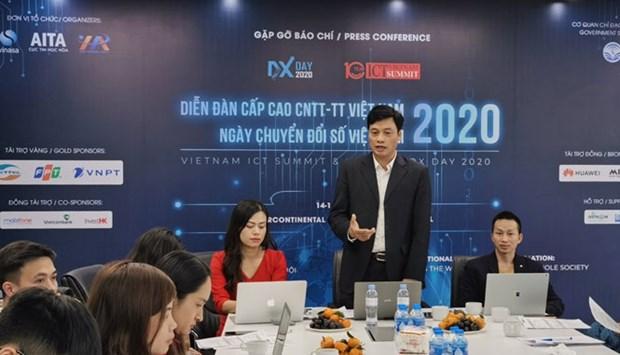 2020年越南信息传媒技术高级论坛:越南着力推进数字化转型 hinh anh 1