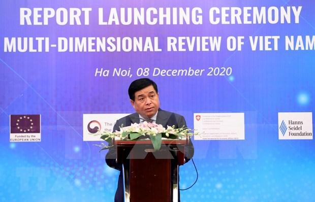 越南国家多维评价报告:面向更融合透明可持续发展的经济 hinh anh 2