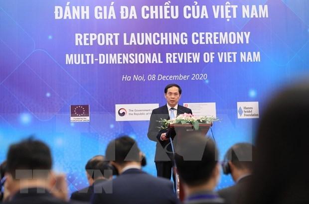 越南国家多维评价报告:面向更融合透明可持续发展的经济 hinh anh 1