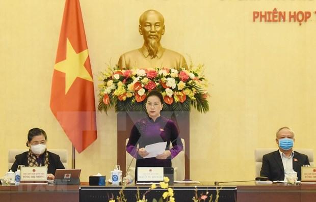 越南国会常务委员会第五十一次会议开幕 hinh anh 1