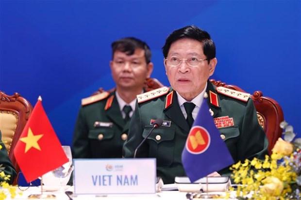 ASEAN 2020:第14届东盟国防部长会议开幕 hinh anh 2
