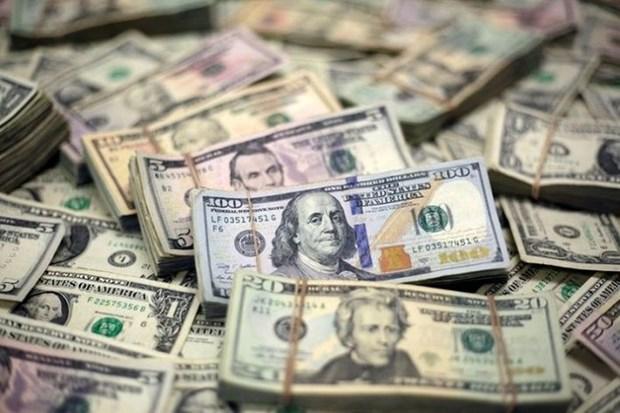 10日上午越盾对美元汇率中间价下调6越盾 人民币汇率小幅上涨 hinh anh 1