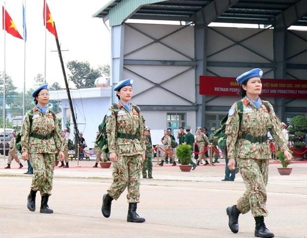 越南国会颁布关于参加联合国维和力量的决议 hinh anh 1