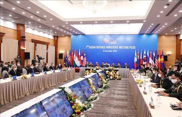 ASEAN 2020:新加坡国防部部长对越南成功举办ADMM和ADMM+给予高度评价 hinh anh 1