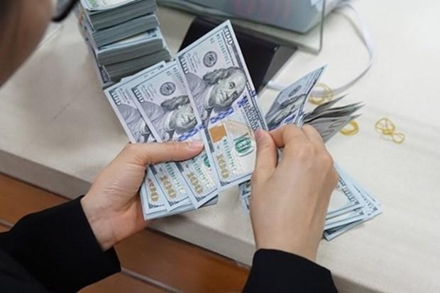 11日上午越盾对美元汇率中间价保持稳定 hinh anh 1