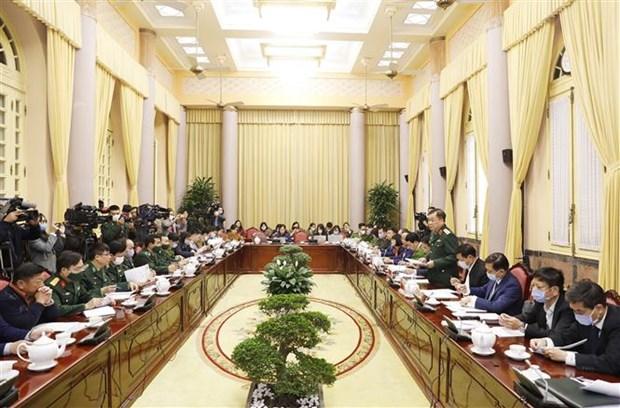 越南国家主席签署主席令公布国会通过的7项法律 hinh anh 1