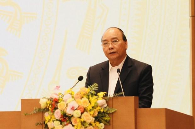 """阮春福总理:减贫是一份""""知识与情怀并重""""的工作 hinh anh 1"""