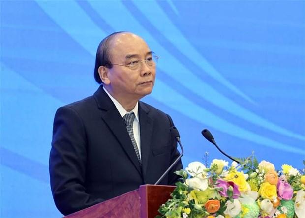 越南政府总理阮春福出席2020年东盟国家委员会总结会议 hinh anh 2
