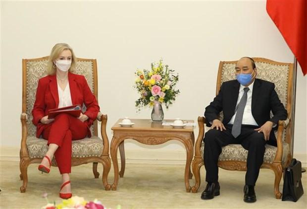 英国国际贸易大臣:英国将越南视为可信任且稳固的伙伴 hinh anh 2