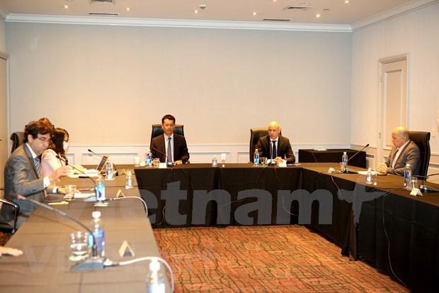 阿根廷看好亚洲市场 视越南为优先合作伙伴 hinh anh 1