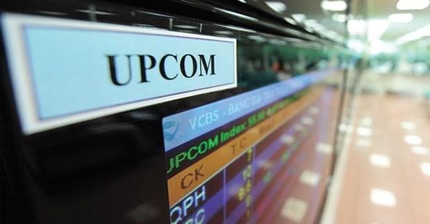 两新股在UPCoM挂牌上市 hinh anh 1