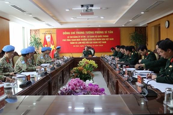 联合国希望越南帮助建设在南苏丹的新冠肺炎疫情检测中心 hinh anh 1