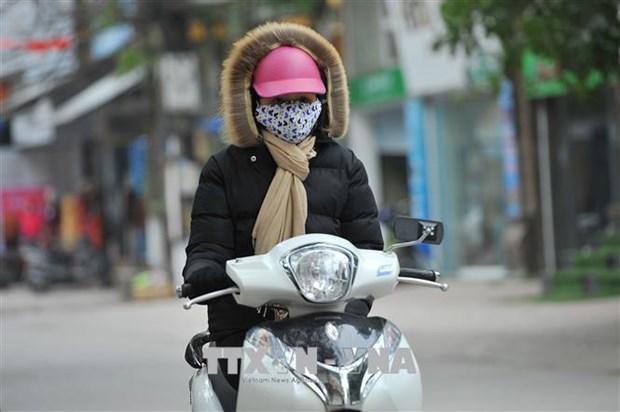 受东北季风的影响北部地区出现严寒天气 hinh anh 1